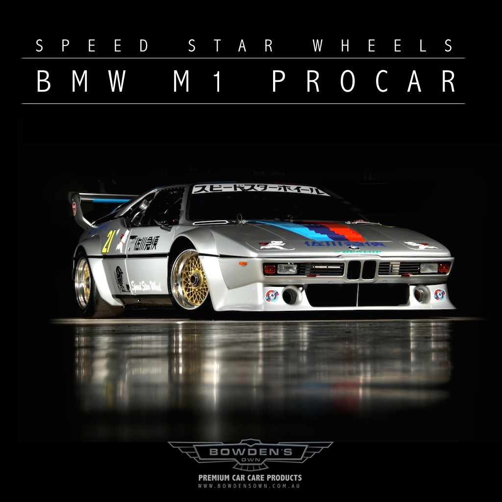Latest News: Speed Star Wheels BMW M1 Uncovered