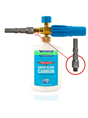 Snow Blow Cannon - BOADAPTER2 - Nilfisk/Alto quick connect Adapter